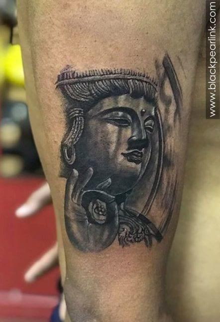 Buddha Tattoo in Shunya Mudra