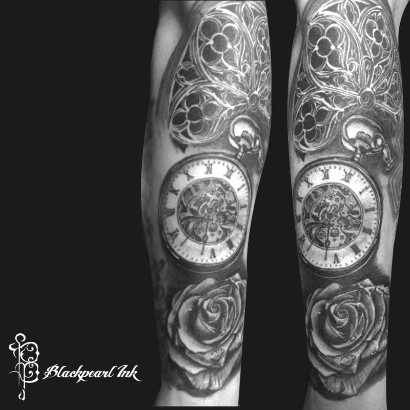 Concept Tattoo Forearm Sleeve