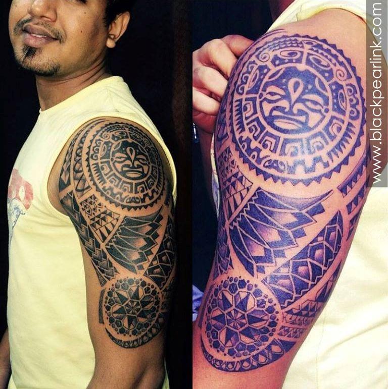 Maori Traditional Tattoo on arm